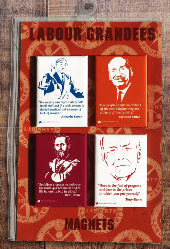 Labour Grandees Fridge Magnets