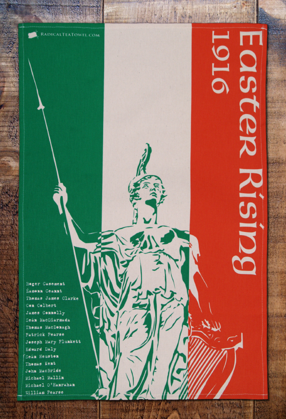 Easter Rising Tea Towel